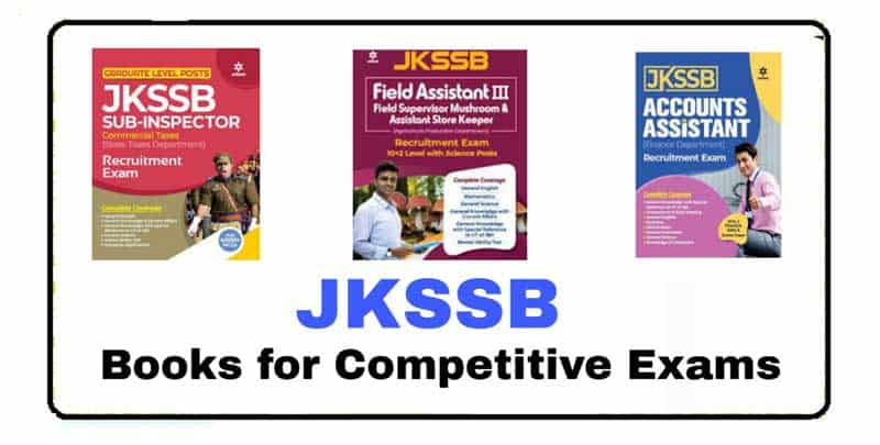 JKSSB Books for all Competitive Exams