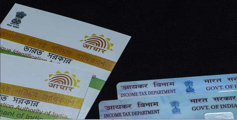 Link your PAN with Adhaar Online or by SMS, Check Status