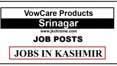 VowCare Products Job Recruitment 2021