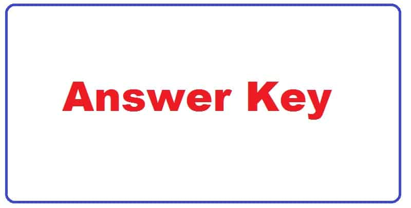 Territorial Army Shift 1 Answer Key