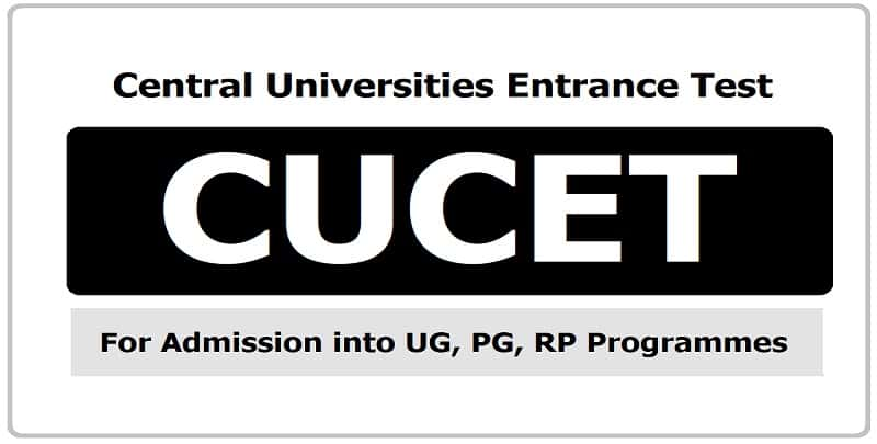 CUCET PhD Answer Key and Cut Off