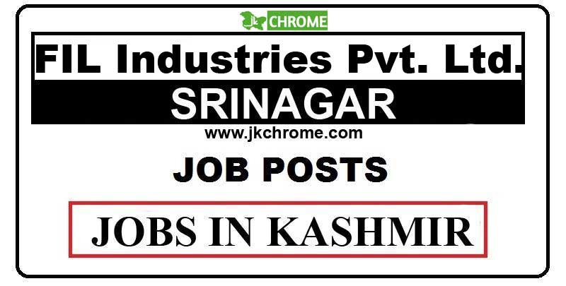 FIL Industries Private Limited Jobs Recruitment 2021