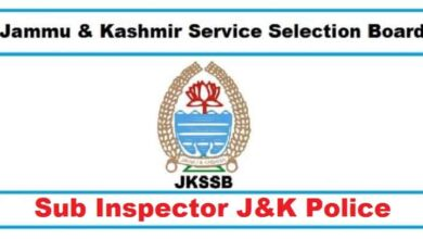 JKSSB Police SI Book and Study Material